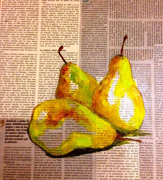 mirazo, serie frutas ilustradas